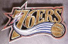 NBA Pewter Belt Buckle Philadelphia 76ers NEW