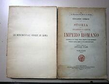 Gibbon # STORIA DELLA DECADENZA E CADUTA DELLO IMPERO ROMANO #Vol.II 1926 # Sten