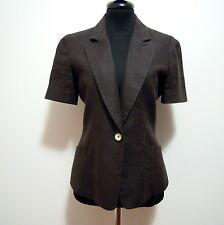 FENDI ROMA Giacca Donna Lino Flax Woman Jacket Sz.S - 42