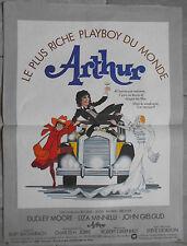 Affiche ARTHUR Steve Gordon DUDLEY MOORE Liza Minnelli AUTO Car Voiture 40x60