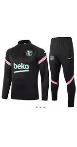 Mens Football Tracksuit Barcelona 20/21 Size M