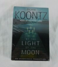 BY THE LIGHT OF THE MOON Dean Koontz 8 Cassettes Narrated by Stephen King