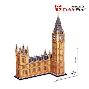 CubicFun 3D Jigsaw Puzzle Big Ben DIY Toy Puzzles Xmas Gift MC087h
