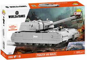 COBI Panzer VIII Maus World Of Tanks Tank SET# 3024 (890 Pcs.) US SELLER, NEW!
