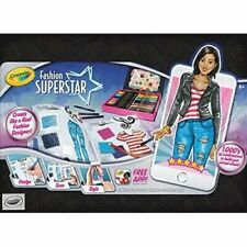 Coloring Book Crayola Fashion Superstar Marker New