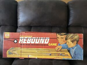 Vintage 1970 Ideal Two-Cushion Rebound Game