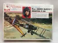 Renwal Bristol F.2B Airplane Kit 1/72 Scale New Factory Sealed #268. A6