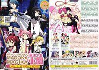 ANIME DVD ENGLISH DUBBED Mahou Shoujo Madoka Magika(1-12End+Movie)FREE SHIP+GIFT
