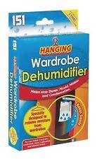6x Hanging Wardrobe Interior Dehumidifier Damp Mould Moisture Clothes