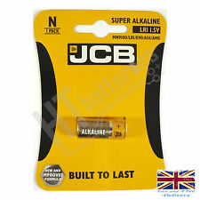 4 x JCB LR1 1.5V SUPER ALKALINE BATTERY - N MN9100 LR1 E90 A34 AM5