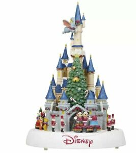 Disney Animated Castle Parade with Music Christmas Decoration