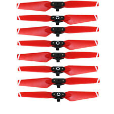 8pcs Red Propellers for DJI Spark Drone Folding Blade 4730F Props RC Spare Parts