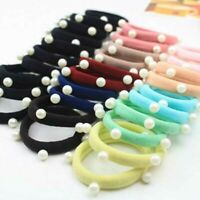 Women Girls Hair Band Ties Elastic Rope Ring Hairband Holder Ponytail G9S5