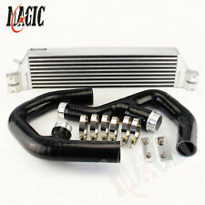 TURBO TWIN INTERCOOLER KIT FOR Volkswagen VW GOLF MK5 MK6 GTI FSI JETTA 2.0T BK