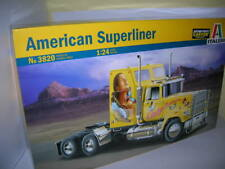 Italeri American Superliner US-Truck  LKW 1:24 Bausatz Kit Art. 3820