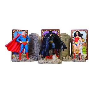 DC Direct Superman Batman & Wonder Woman DC Comics Trinity Bookends