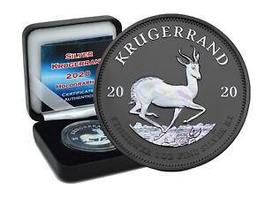 1 oz Silber Krügerrand 2020 1 Rand Südafrika Holographic Edition