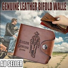 Men's PU Leather Wallet Pocket Card Clutch ID Credit Bifold Purse Holder