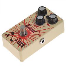 Guitar Effect Pedal Fuzz Tone Pedal Belcat FUZ-510 Yellow- Ture Fuzz Bypass