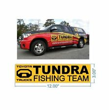 Toyota Tundra Fishing Team Sticker Decal for Bass Fishing