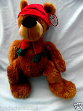 HUGE Vintage CHRISTMAS Teddy Bear By Best Made Toys (25 INCHES)