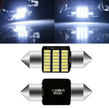 20Pcs Festoon 31mm Canbus Error Free LED C5W 21SMD 3014 Car Dome Map Roof Light