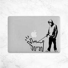 Banksy Aufkleber für MacBook Sticker Skin Mac Laptop Decal Notebook Hund 11 13