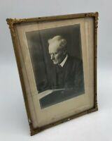 Original Vintage Antique Metal Framed Photograph By Rebrah English Make