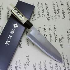 Japanese Knife Tojiro Chef White Steel Shirogami Grinding Finish Santoku F/S