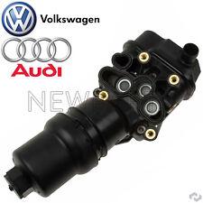 For Audi A3 A4 TT Quattro VW Passat L4 Engine Motor Oil Filter Adapter Housing
