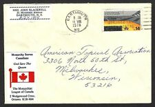 Monachists League Canada – Monarchy Saves Canada label on 1978 cover