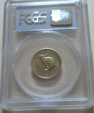 1967 Canada Five Cents (Nickel) Coin. PCGS MS-00 RJ