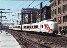 NETHERLANDS      *     NS   Intercity Train # 4012 with Martinair colors in 1986