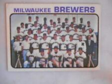 1973 Topps Milwaukee Brewers Team #127 Baseball Card