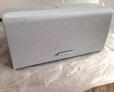 Bose SILVER **{NEW}** Center Channel Double Cube Speaker Acoustimass Lifestyle
