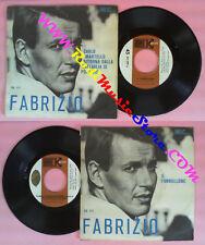 LP 45 7'' Fabrizio de Andre' Carlo Hammer Ritorna Paolo Village No CD Mc VHS