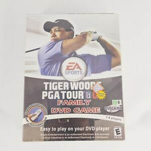 Tiger Woods PGA Tour 07 Family DVD Game, 2007 Incl Poster - Brand New & Sealed
