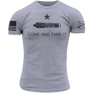 Grunt Style Come and Take It T-Shirt - Gray