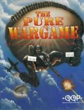 The Pure Wargame: Death From Above + Manual PC CD airborne war strategy game!