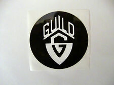 GUILD ACOUSTIC GUITAR ELECTRIC GUITAR DECAL STICKER CASE RACK BUMPER STICKER NEW