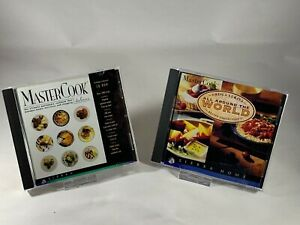 Sierra Home Mastercook Cookbook Deluxe Sheila Lukins World Recipe Collection CD
