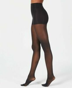 Women's Medium DKNY Comfort Luxe Opaque Coverage Control Top Tights Lot of 2 NEW
