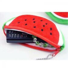 Fruit Cosmetic Key Coin Bag Watermelon Purse Wallet