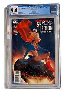 DC Comics Supergirl And The Legion Of Super-Heroes #23 CGC 9.4