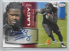 Eddie Lacy 2013 Sage Football Rookie Autograph Red #28