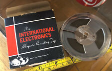 Magnetic Recording Tape International Reel to Reel Vintage Player Retro Classic