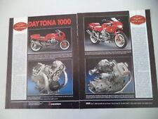 advertising Pubblicità 1991 MOTO GUZZI DAYTONA 1000