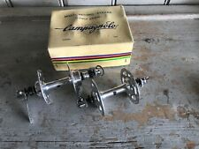 NOS Boxed Campagnolo Record High Flange Hubs 28H 110mm/126mm Eroica Vintage