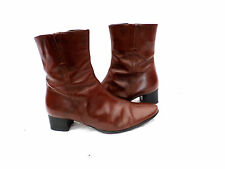 Unbranded Patent Leather Upper Ankle Boots for Women