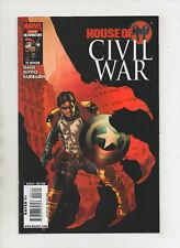 House Of M Civil War #3 - Winter Soldier Cap Shield Cover - (Grade 9.2) 2008